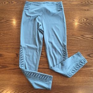 VS leggings size M muted blue color